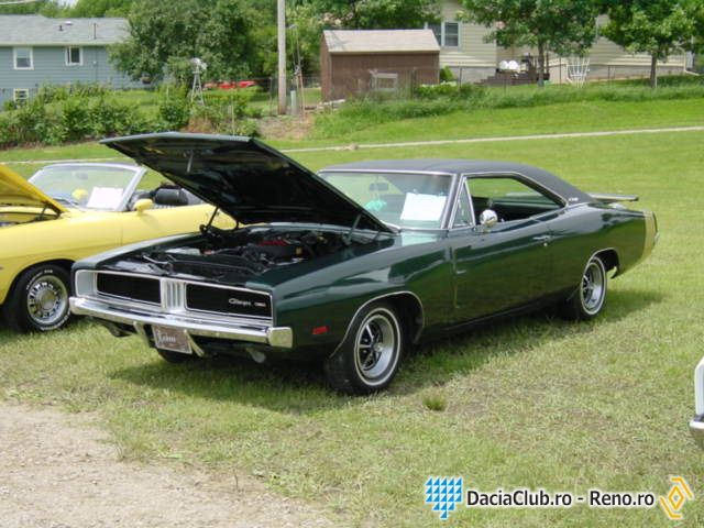 1969 Dodge Charger Muscle Car