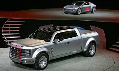Super Chief Truck Future Cars 2015